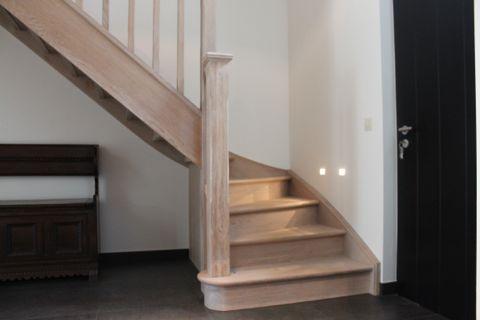 Cp trappen klassieke trappen for Trap eiken